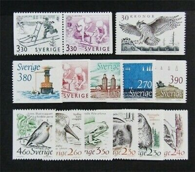 nystamps Sweden Stamp # 1719//1761 Mint OG NH $30