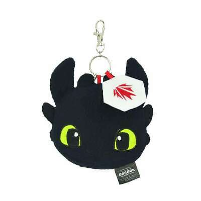 """How to Train Your Dragon 3 TOOTHLESS Plush Doll Soft Toys Keyring Keychain 3.5"""""""