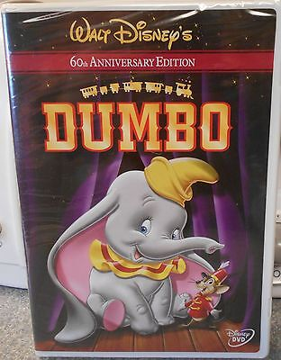 Dumbo (DVD, 2001, 60th Anniversary Edition) RARE 1941 DISNEY BRAND NEW