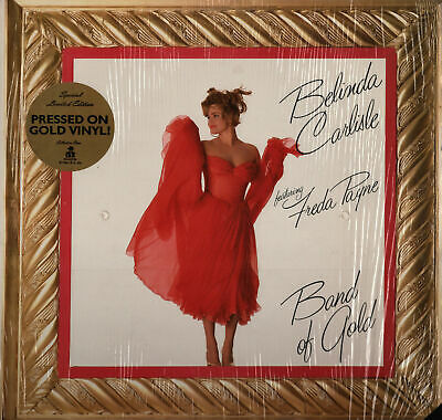 Belinda Carlisle Band Of Gold Single Vinyl Record on Gold Vinyl NM!!
