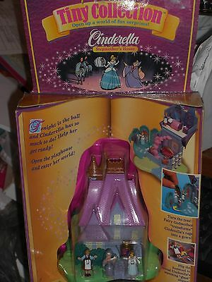 1995 Mattel Bluebird Toys Disney Tiny Collection Cinderella Stepmother's House!!
