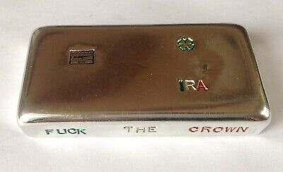 10 oz hand poured bar 999 Tin Army Irish Republican IRA. Bar is tin, no silver