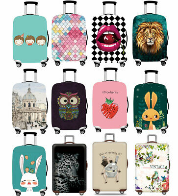 """Thicker Trolley Suitcase Dustproof 18""""-32"""" Dust Travel Luggage Cover Protector"""