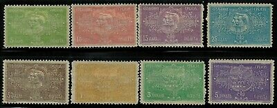 Serbia #79-86 Complete Set 1904 MH