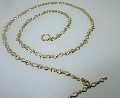 NEW. $3870 CATHY CARMENDY 18K Gallant Link Necklace 16.5""