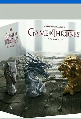 (NO ART/NO BOX) Game of Thrones Series Season 1-7 DVD, Disc Set Fast Shipping