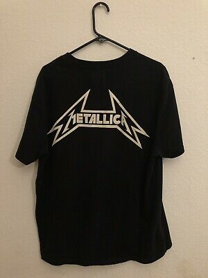 daf4c8d32 FEAR OF GOD Metallica Boxy T Shirt FOG X Pacsun Men's Small - $60.00 ...