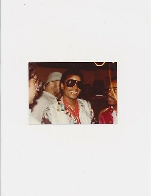 Early 1980's Color Private Photograph of Michael Jackson Singer Musician
