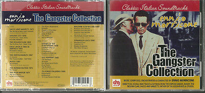 Used CD - THE GANGSTER COLLECTION - 2 cd Set - Ennio Morricone - DRG