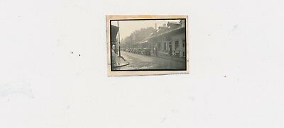 1930s Rare New Orleans Contact 35mm Rainy,#2,Street,Building,Row Cars,Beer Signs