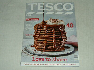 Tesco Food Magazine - February 2019, Valentine's Edition