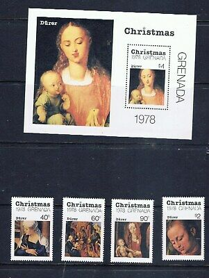 Grenadier – Christmas 1978 – Albrecht Durer paintings (F07) – Free postage
