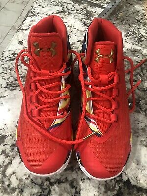 2890dc4f129a 2017 Under Armour UA Steph Curry 3 SZ 6.5 Chinese New Year CNY 1274061-984