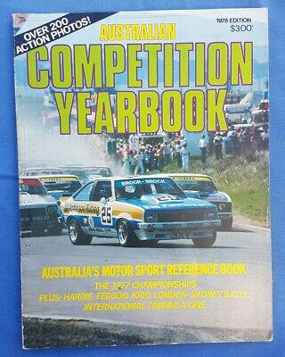Australian Competition Yearbook 1978
