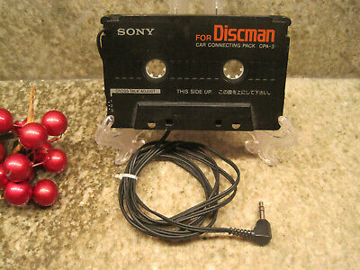 Vintage Sony For Discman Car Connecting Pack CPA-3 Cassette Component Only