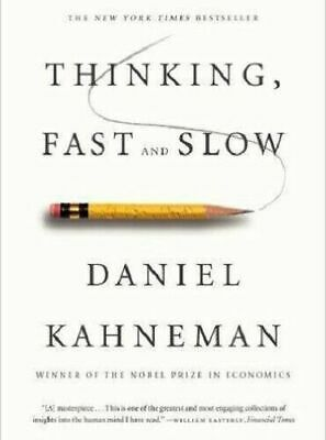 Thinking, Fast and Slow by Daniel Kahneman PDF Fast ship