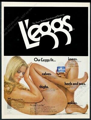 True fruit of the loom pantyhose ads of 1979