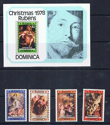 Dominica – Christmas 1978 – Rubens paintings (F36) – Free postage
