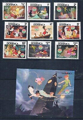 Dominica – Christmas 1980- Disney Peter Pan (F63) – Free postage