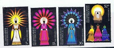 St Christopher –Nevis-Anguilla – Christmas 1978 (F83) – Free postage