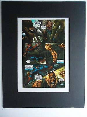 2005 Marvel Amazing Spider-Man # 517 Page 16 Mike Deodato Jr. Production Art