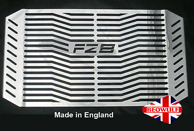 Yamaha FZ8 S/N (10-16) Stainless Steel Radiator Rad Cover Grill Guard Beowulf