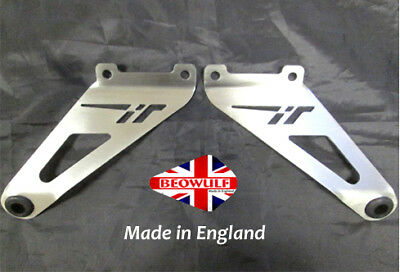 Aprilia Tuono 1000 R Factory (06-10) Stainless Steel Exhaust Hanging Brackets
