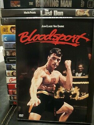 Bloodsport Dvd Movie Region 1 Jean-Claude Van Damme Great Condition Like New