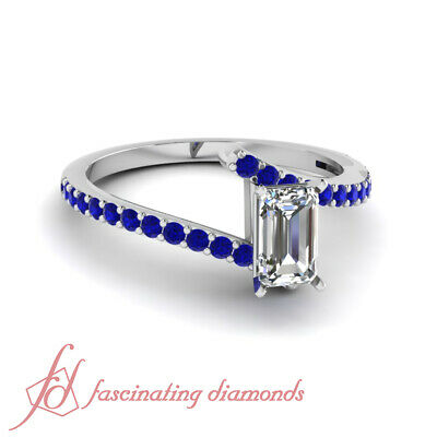 Devoted 2ct Blue Sapphire 925 Solid Genuine Sterling Silver Art Deco Filigree Ring Rings Jewelry & Watches