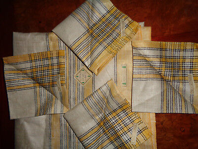 LOVELY! Never Used With Tags Czecho Slovakia Pure Linen Table Cloth & 4 Napkins