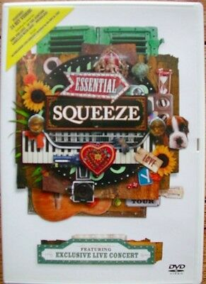 SQUEEZE - Essential : features 24 Hits videos +