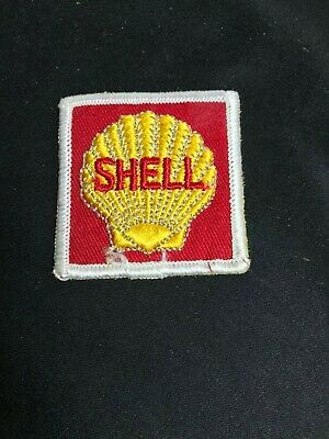 Vintage Shell Auto Care Service Station Gas /& Oil Embroidered Emblem Patch ~ NOS