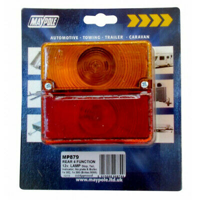 Britax 9088.00 Rear Square Lamp Combination Maypole 879