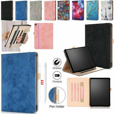 For Apple iPad Pro 11inch 2018 Case Leather Smart Cover Stand w/ Auto Sleep/Wake