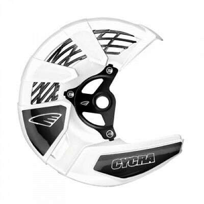 Cycra Tri-Flow Front Disc Cover with Mounting Kit White 1910910060