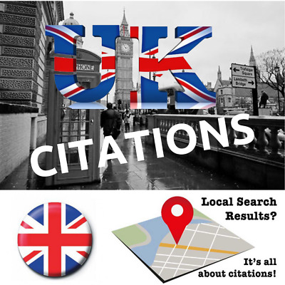 100 UK Citations! Submit your business details & Boost your Google Local Ranks!