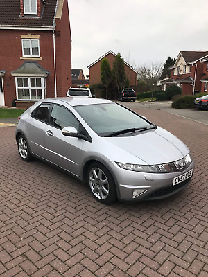 2007 57 Honda Civic Ex I-Ctdi 2.2 Diesel 6 Speed Manual 5 Door Hatchback  Fsh