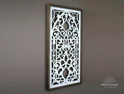 Stained Glass Window Inspired Pattern for Refined Farmhouse Decor