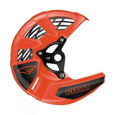 Cycra Tri-Flow Front Disc Cover with Mounting Kit Orange 1910910026