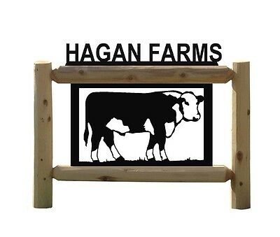 Cows - Herefords - Farm & Country Outdoor Signs