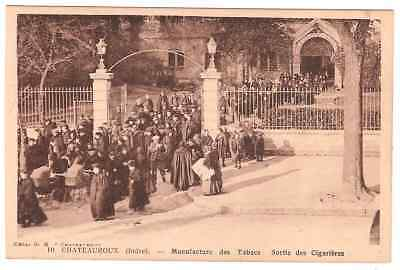 Chateauroux (Indre) Manufacture Des Tabacs.sortie Des Cigarieres (Animee)