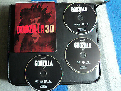 Version Steelbook Combo Blu-Ray/dvd Godzilla Inclus Version 3D Zone B Comme Neuf
