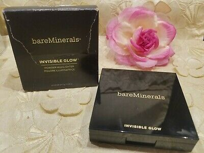 Bareminerals-Invisible Glow-Powder Highlighter-Medium-0.24 Oz.-Nib!