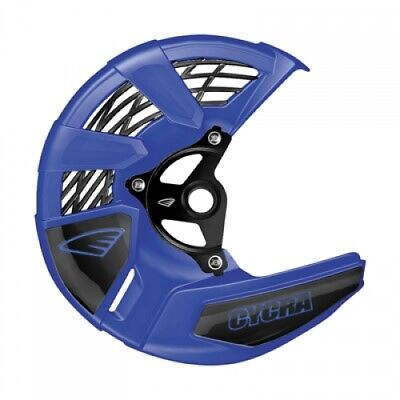 Cycra Tri-Flow Front Disc Cover with Mounting Kit Yamaha Blue 1910910030