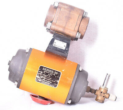 Worcester Series 39 Pneumatic Actuator Model 20 With Worcester R2CWP1000