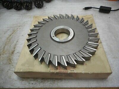 "Straight Tooth 6 x 1//2 x 1/"" HSS Side Milling Cutter"