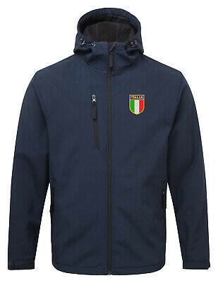 Italia Italy Retro Style Football Softshell Jacket