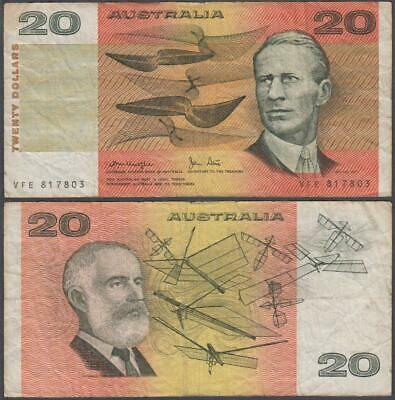 ND (1974-94) Reserve Bank of Australia 20 Dollars