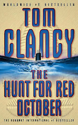 The Hunt for Red October by Tom Clancy (Paperback, 1986)