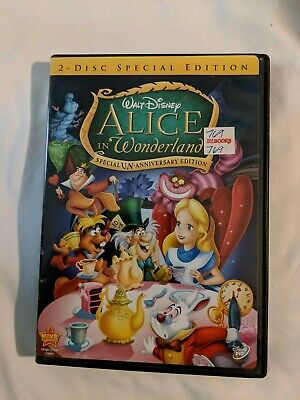 Disney's Alice in Wonderland (DVD, 2010,  Anniversary Special Edition)